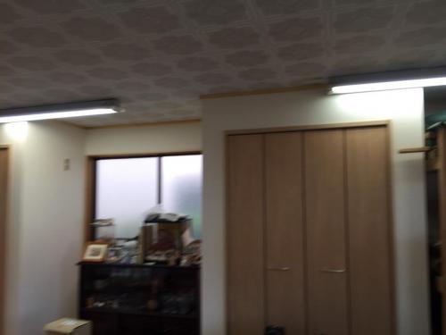 浦和区上木崎 K邸_納戸・内装工事・壁クロス張完了